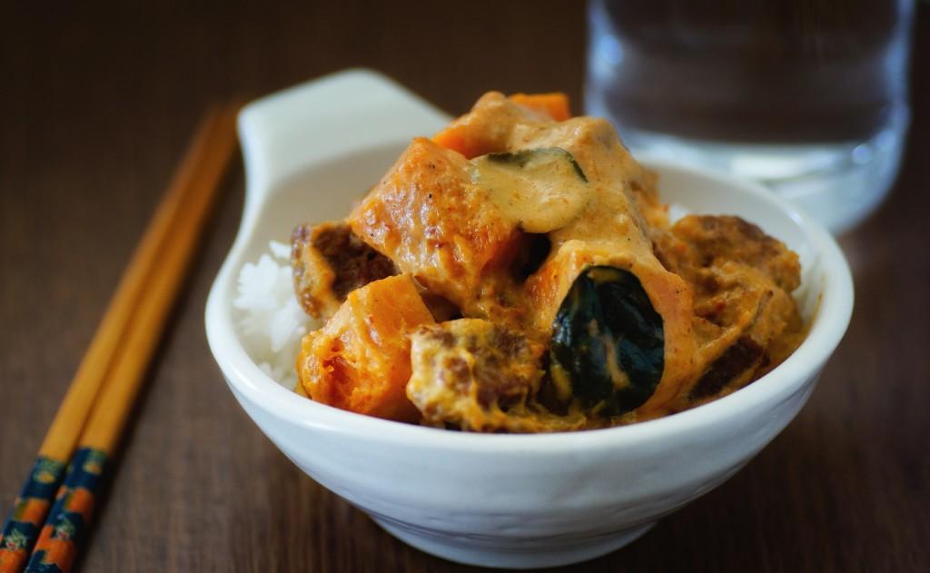 20140830 - Pumpkin Beef Thai Curry - 0006-Edit